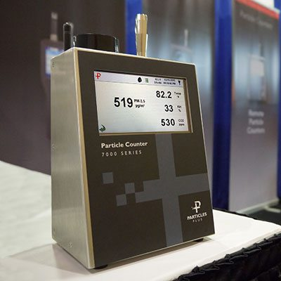 Particles Plus Unveils Air Quality Monitors
