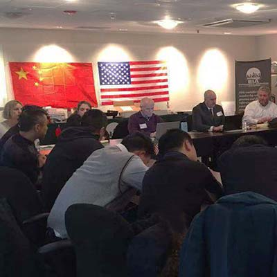EIA US-China Delegation Meeting